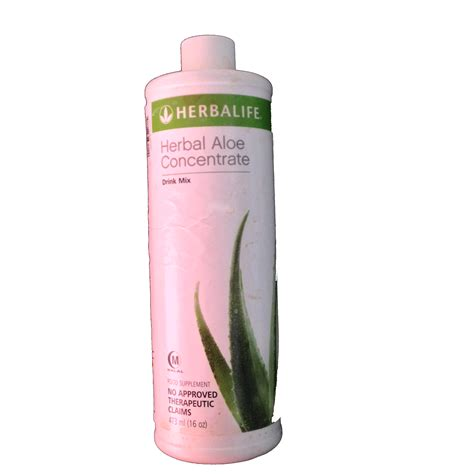 Aloe Concentrate digestive tract friendly drink herbalife aloe