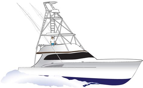 sport fishing boat art fishing boat clipart custom pencil and in color fishing