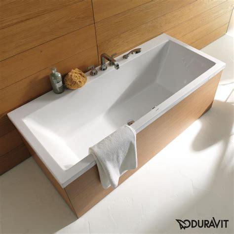 badewanne duravit duravit vero rechteck badewanne einbauversion oder