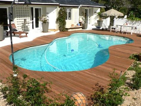wood pool deck pool decking really like the wood outdoor spaces pinterest