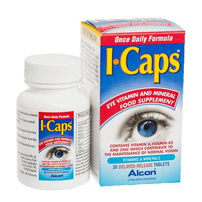 icaps tablets eye care | feel good contacts uk