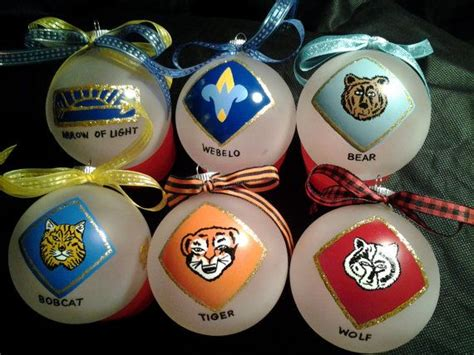 cub scout christmas ornament ideas cub scout handpainted personalized ornaments 2013 by tamcoarts 10 00 scouting