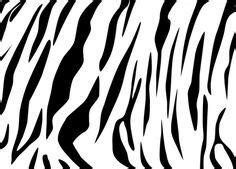tiger stripe template printable tigers oh my on white tigers silhouettes