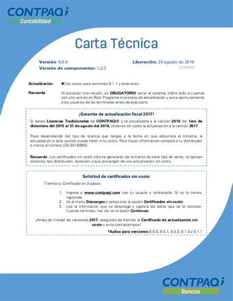 carta de consulta tecnica carta tecnica contabilidad bancos 900