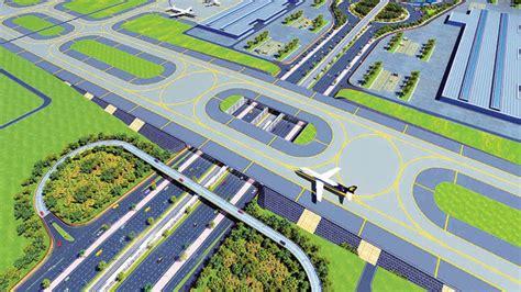 layout plan of navi mumbai airport pre development works for navi mumbai international