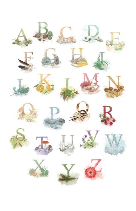 fruit 10 letters random colours alphabet series