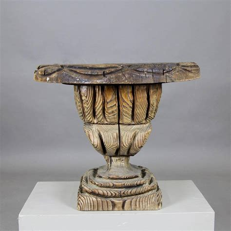 unique sculptural side table at 1stdibs
