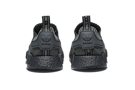 Sepatu Adidas Nmd Pitch Black Edition Premium how to get the adidas originals nmd primeknit pitch black sneakers footwear news