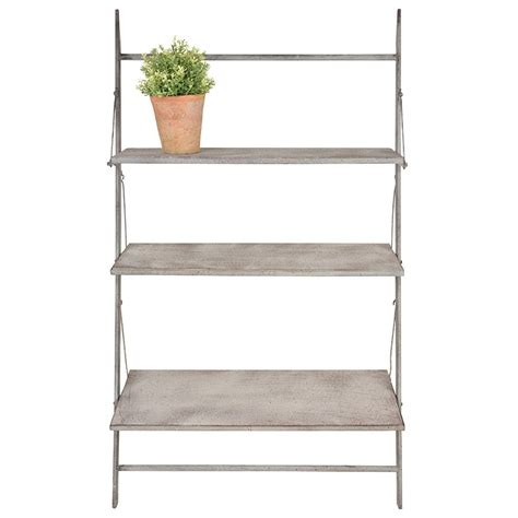 Ladder Shelf For Plants by Esschert Design Usalarge Plant Ladder Wood Shelves