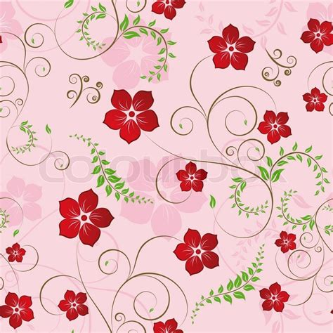 design pattern usage floral seamless background for yours design use for easy