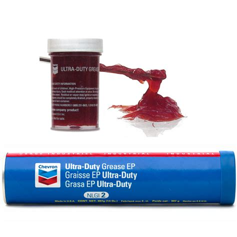 chevron ultra duty grease ep scl