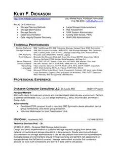 Implementation Specialist Cover Letter by Kurt Dickason Storage Specialist Resume