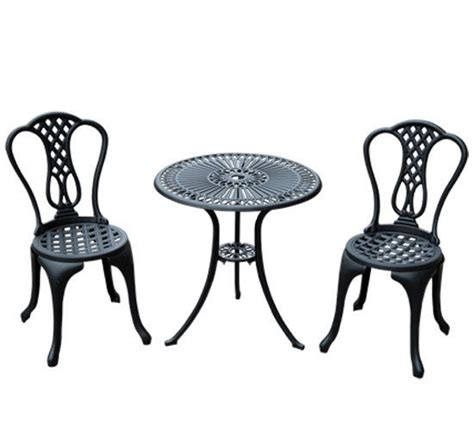 Garden Bistro Chairs Outsunny Garden Bistro Set Outdoor Table Chairs Aluminium Patio Lawn Furniture 163 85 99 Picclick Uk