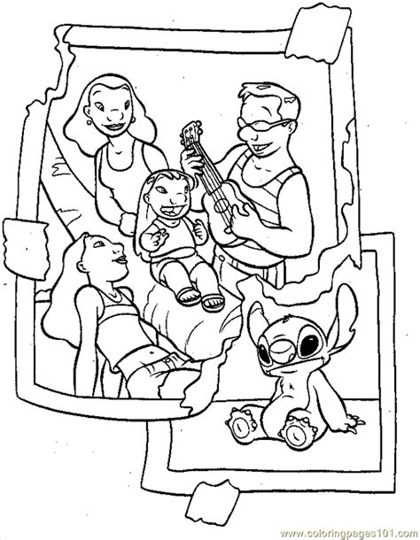 free lilo and stitch coloring pages to print coloring pages lilo13 cartoons gt lilo and stitch free
