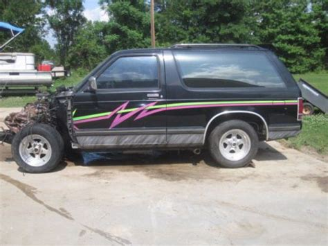 Blazer St Pro find used 1984 chevrolet s10 blazer pro stroker 383 project in fort worth united