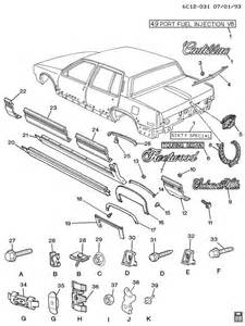 93 Cadillac Parts 1993 Part Question