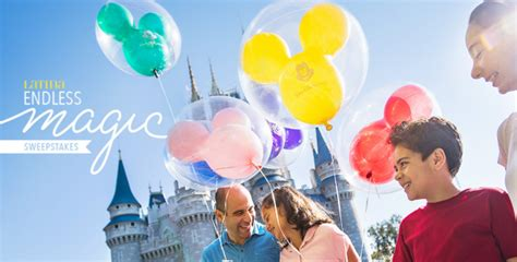 Disney World Sweepstakes 2017 - win a trip to disney world in the latina endless disney magic sweepstakes