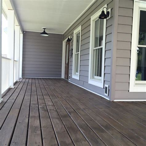 diy front porch stain sweet threads design