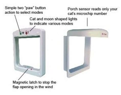 pet porte microchip cat flap petsafe petporte smart flap review 183 microchip cat flap