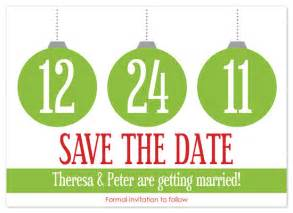 save the date cards christmas wedding at minted com