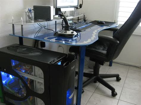l shaped desk gaming setup l shaped gaming desk fascinating l shaped gaming desk