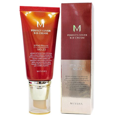 Sale Missha M Cover Bb No 23 missha bb no 23 cover foundation anti wrinkle blemishes healing ebay