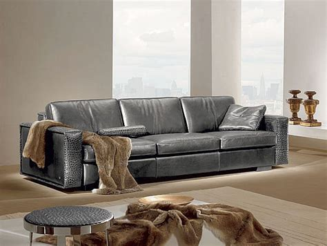 contemporary leather couches contemporary leather sofa gamma kelly sofa