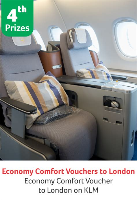 Klm Upgrade To Economy Comfort by Shoppersofthemonth