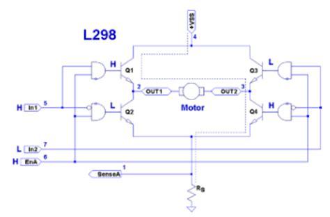 integrated circuit h bridge how it works l298 h bridge intj