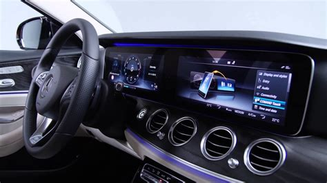 mercedes digital dashboard mercedes e class 2016 dashboard youtube