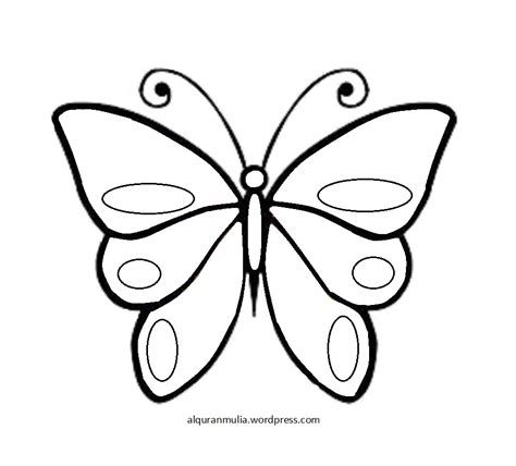 Katun Kupu Kupu gambar bunga kartun hitam putih dan kupu kupu pernik dunia