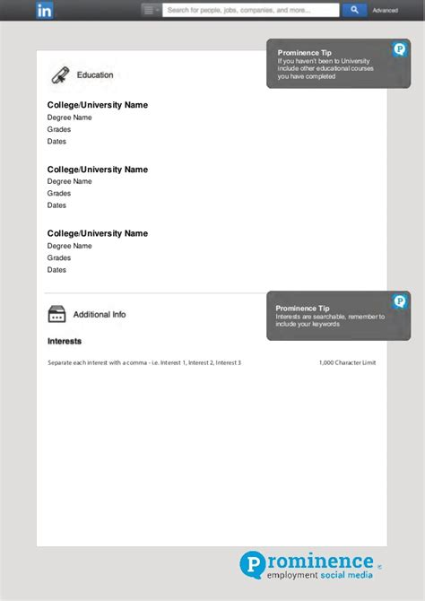 templates for your linkedin invites linkedin showcase pages template and specs free download