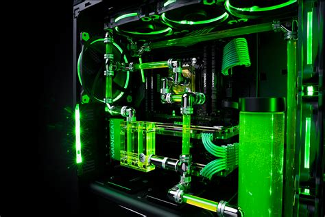 Home And Garden Design Software Reviews by Maingear R1 Razer Edition Mean And Green Gadgetynews