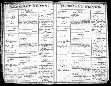 Mormon Marriage Records Genealogy Data Page 28 Notes Pages