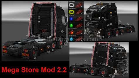 download mod game ets free download ets2 mods mega store v2 1 fixed