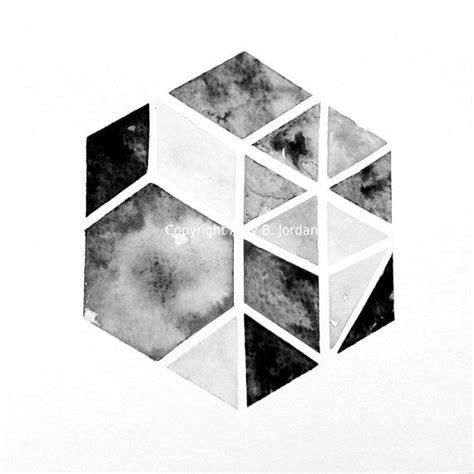 Geo Balance Timbangan Geometric Warna original hexagon triangle geometric painting tribal nate berkus inspired geometric
