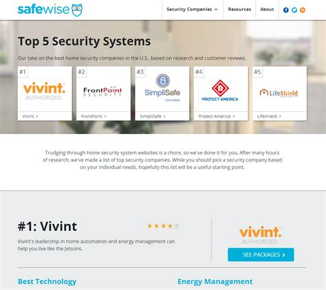 list of home security system companies 28 images list