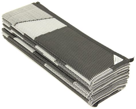 Rv Awning Mats 8 X 20 by Faulkner Rv Mat Summer Waves Black And White 8 X 20
