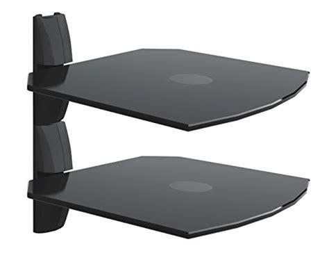Swivel Tv Shelf by Invision 174 Ultra Modern Wall Mounted Glass Shelf Set Of 2