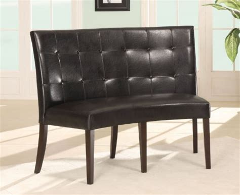 black banquette cheap prices modus furniture 2y0266d bossa dining height