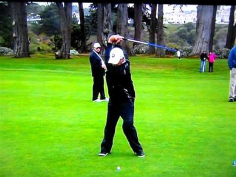 freddie couples golf swing slow motion fred couples slow motion 3 youtube