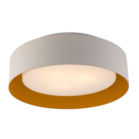 white flush mount ceiling lynch white orange flush mount ceiling light bromi design