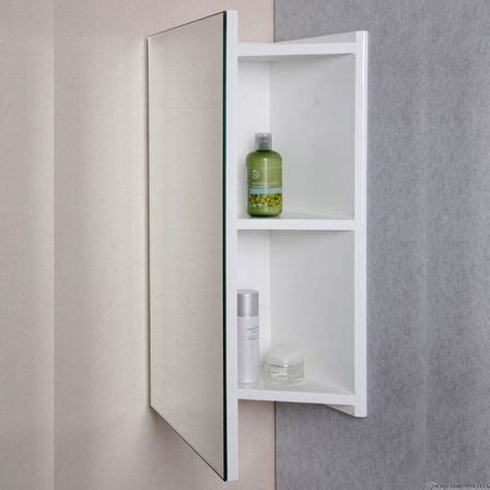 corner mirror cabinet with light corner bathroom mirror variants with cabinets bathroom
