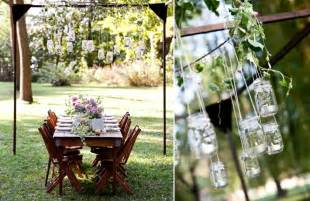 the everygirl s backyard wedding the everygirl