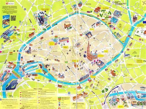 Strasbourg Plan by Plan De Strasbourg Centre Ville