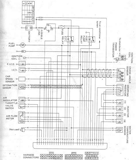 1994 nissan 240sx wiring diagram wiring diagram with
