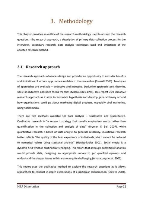 methodology chapter dissertation exles the following are some tips for creating a methodology thesis