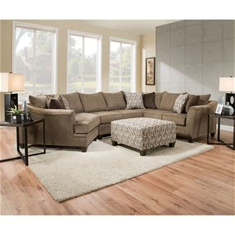 simmons albany sofa with chaise united furniture industries 6485 transitional sofa chaise