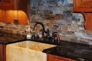 Kitchen Backsplash Ideas With Oak Cabinets by Kitchen Backsplashes With Oak Cabinets Myideasbedroom Com