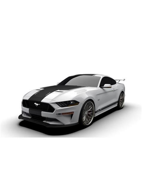 raceskinz   ford mustang rs jargon graphics